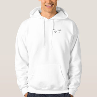 I see you with my heart hoodie