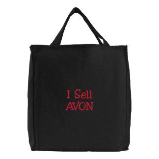 I Sell AVON Embroidered Bag