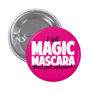I sell Magic Mascara - Younique 3 Cm Round Badge