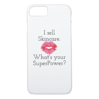 I Sell Skincare. What's Your SuperPower? iPhone 7 Case