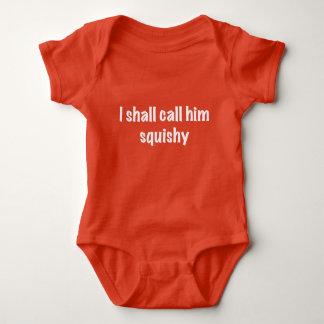 I Shall Call Him Squishy Baby Bodysuit