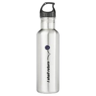 I Shall Return Indoor Pickleball Water Bottle