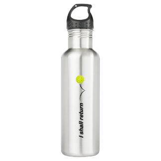 I Shall Return Outdoor Pickleball Water Bottle