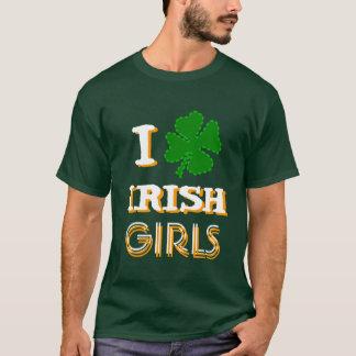 I Shamrock Irish Girls T-Shirt