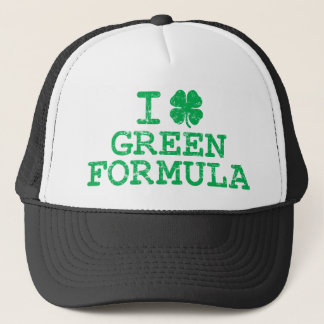 I Shamrock (Love) Green Formula Trucker Hat