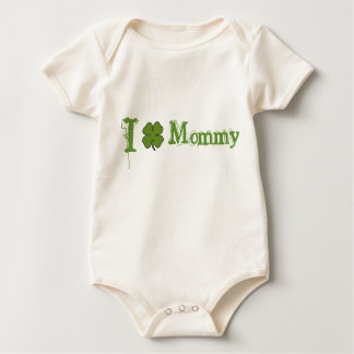 I Shamrock Mommy Baby Bodysuit