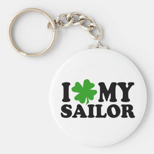 I (shamrock) My Sailor Key Chains