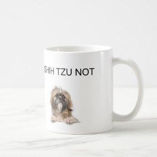 i shih tzu not basic white mug