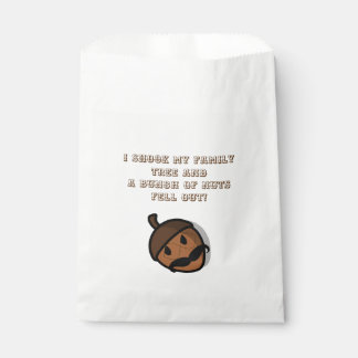I Shook My Family Tree Family Reunion Welcome Kit Favour Bag