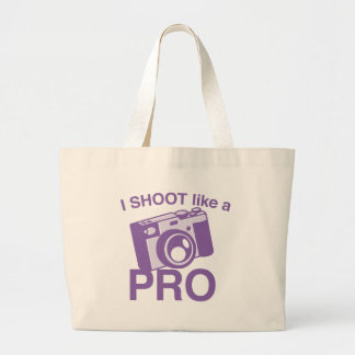 I Shoot like a PRO Canvas Bags