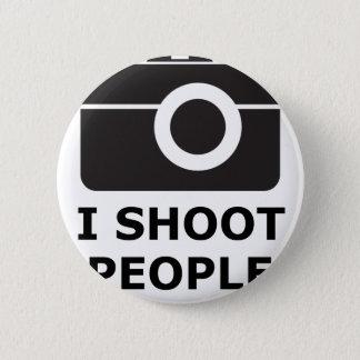 I Shoot People 6 Cm Round Badge
