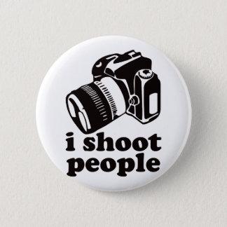 I Shoot People! 6 Cm Round Badge