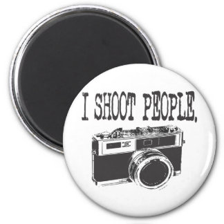 I Shoot People 6 Cm Round Magnet