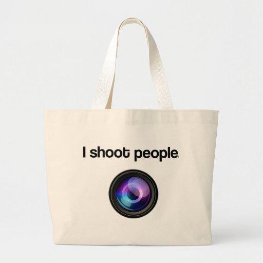 I SHOOT PEOPLE BAGS