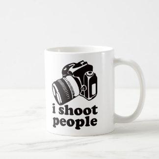 I Shoot People! Basic White Mug