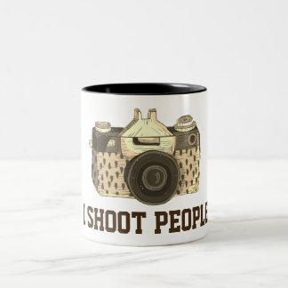 I shoot people camera mug