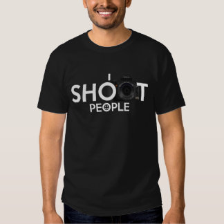 I Shoot People Camera Photography T-shirt