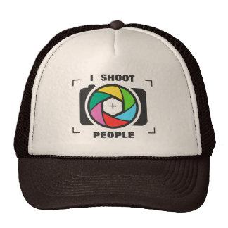 I Shoot People - Colorful Camera Shutter Fun Cap