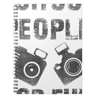 I shoot people for fun notebook