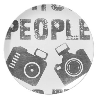I shoot people for fun plate