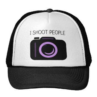 I Shoot People Funny Photographer Saying Cap