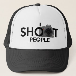 I Shoot People Funny Photographers Hat