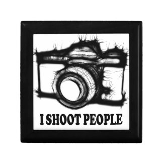 I shoot people gift box
