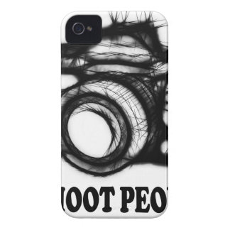 I shoot people iPhone 4 Case-Mate case