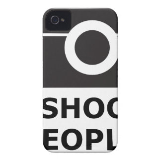 I Shoot People iPhone 4 Covers