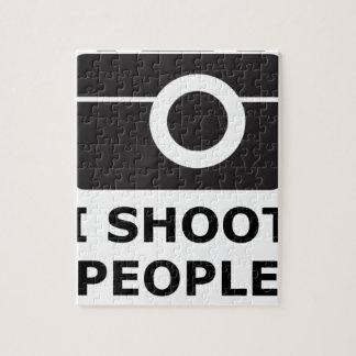 I Shoot People Jigsaw Puzzle