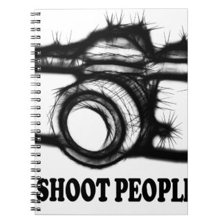 I shoot people notebook