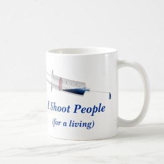 I Shoot People Nurse Humor Coffee Mug