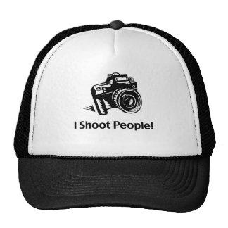 I Shoot People Photographer Cap