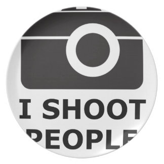 I Shoot People Plate