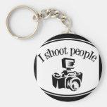 I Shoot People Retro Photographer's Camera B&W