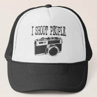 I Shoot People Trucker Hat