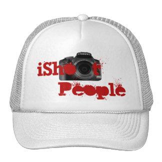 I Shoot People (w/DSLR Camera) Cap