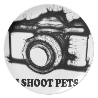 I shoot pets plate
