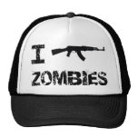 I Shoot Zombies Cap