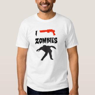 I Shoot Zombies Tee Shirt