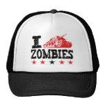 I Shoot Zombies Using Tank Mesh Hat