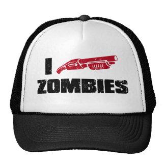 i shotgun zombies cap