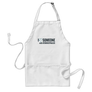 I Shunt Heart Someone with Hydrocephalus Standard Apron