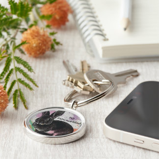 I #sincrueldad key ring