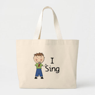 I Sing - Male Tshirts and Gifts Bags