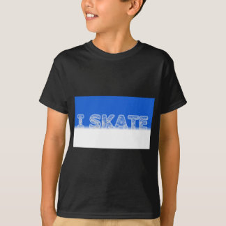 I Skate T Shirt