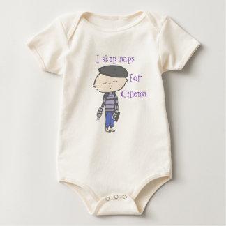 i skip naps for Cinema baby Baby Bodysuit