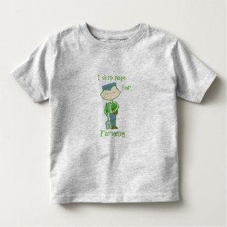 i skip naps for farming baby clothes tshirt