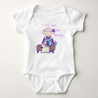 I skip naps for sewing. tee shirts