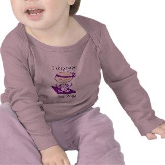 i skip naps for yoga long sleeve t-shirt